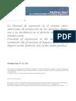 Libertad de Expresión en SIDDHH (Herrera)