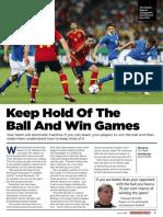 Football Dominating Possession