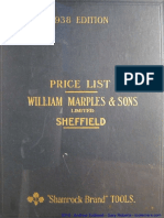 Marples Catalog 1938