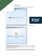 Instalación de Project Server 2007