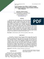 contoh jurnalAkper - Jurnal Akuntansi - Pengaruh Atribut Perusahaan Dan Faktor Audit Terhadap Keterlambatan (2)