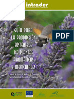 Guía Para La Producción Sostenible de Plantas Aromáticas y Medicinales