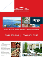 Property Gallery Bali Brochure 2009