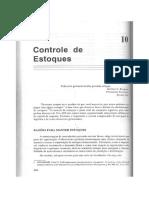 Cap. 10 - Controle Estoques - Ballou, Ronald H.