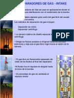 Separadores de Gas-Intake