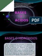 Bases y Ácidos