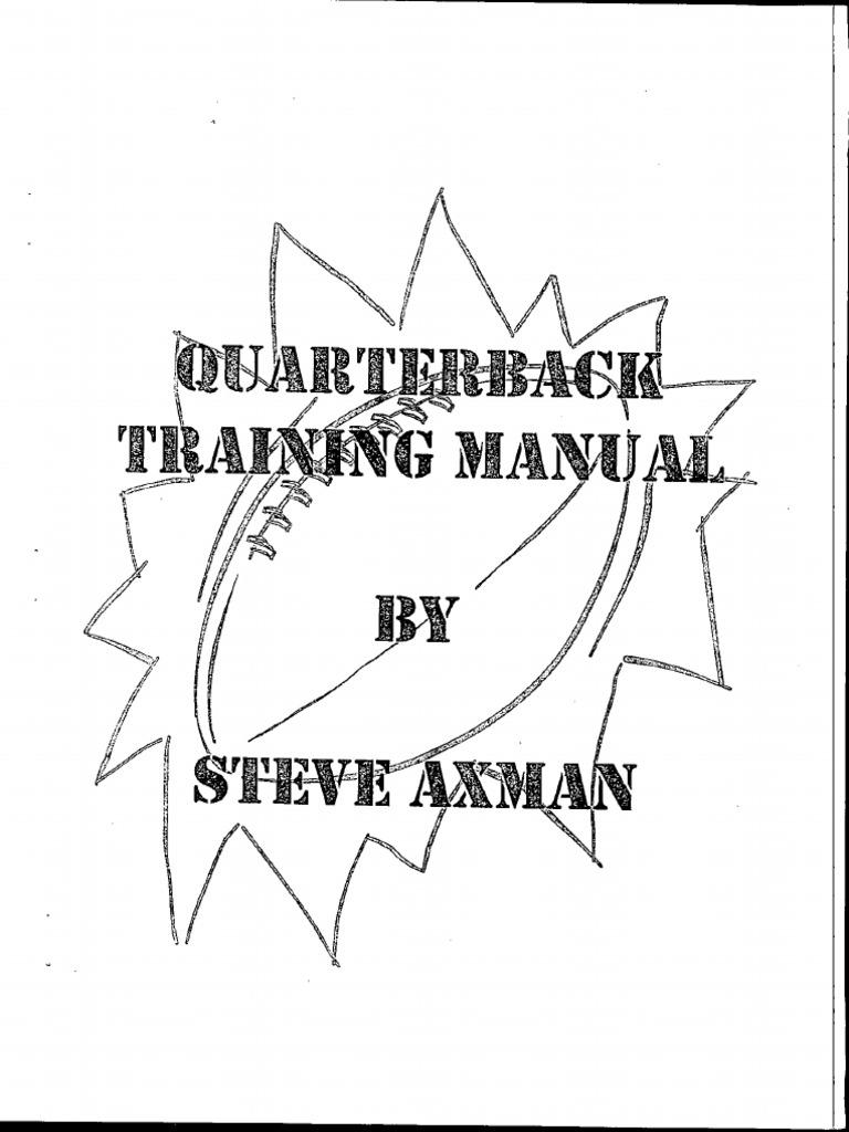 Quarterback Training Manual