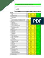 Cronograma Requerimiento Materiales Techado Copia