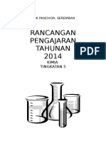 RPT Tingkatan 5 2014 Subjek Kimia