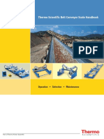 Thermo Scientific Belt conveyor Scale Handbook