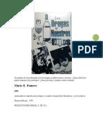 Mario E. Fumero - Las Drogas y Nuestros Hijos
