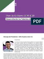 Plan de Gobierno de Julio Guzmán (2016-2021)