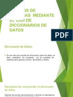 Analisis de Sistemas Mediante El Uso de Diccionarios