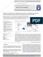 Chemical, Structural and Combustion Characteristics of Carbonaceous Products