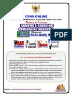 Soal Tes Wawasan Kebangsaan (TWK) CPNS