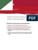 Written Communication Toolkit