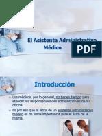 El Asistente Administrativo Médico
