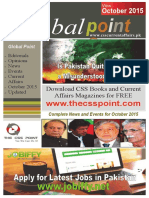 Global Point Current Affairs October 2015