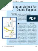 Calculation of Heat Gain Double Facades