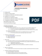 1a - TomatoUSB Firmware Default Setup Guide