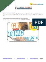December Double Tonic 2015 1
