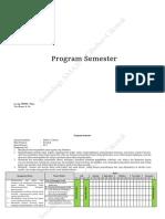 Program Semester Kelas XI Kurikulum 2013
