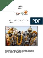 Akharas at Simhastha Kumbha Mela Ujjain