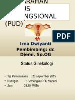 Perdarahan Uterus Disfungsional (Pud) Irrrna