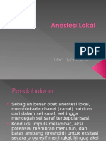 Anestesi Lokal 1