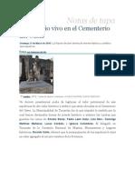 Patrimonio Cementerio del Oeste