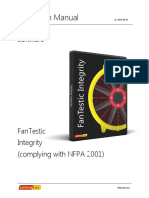 FanTestic Integrity (complying with NFPA 2001)