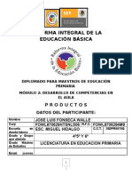 Producto Jose Luis Fonseca Walle