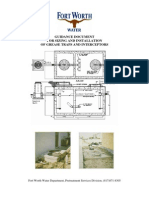 Grease trap Sizing