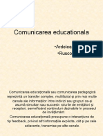 Comunicarea educationala