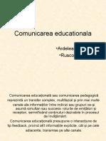 Comunicarea educationala