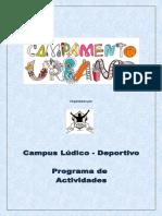 Planning Campus Verano Ívero