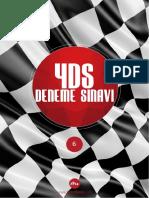 2015 YDS Deneme Sınavı 6