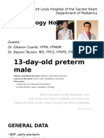 13 Day Old Preterm Male