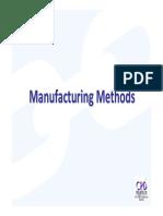3.Manufacturing Methods