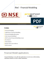 Financial Modelling 2016