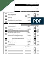 Checklist Dokumen