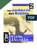 Quaderni Del Bobbio Numero 2