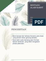 BENTANG ALAM KARST Pertemuan 2.pptx