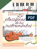 La Clasificación de Los Instrumentos - archivo de texto