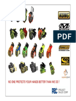PSC Impact Glove Range 2016