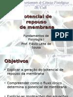 03 - EF - Potencial de Membrana