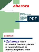 Zaharoza chimia