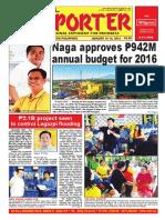 Bikol Reporter January 10 - 16, 2016 Issue