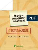 Property Management Accounting Book
