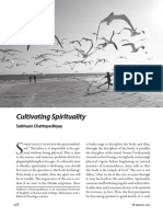 Cultivating Spirituality (Spirituality in Changing Times. Special Issue, January, 2015 Prabuddha Bharata)
